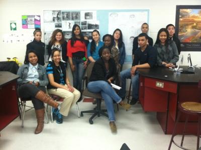 Mr. Evans' class